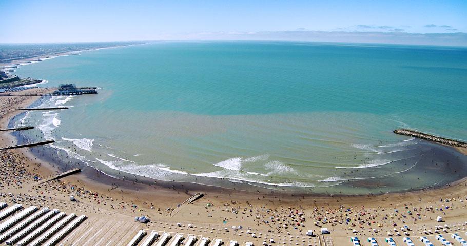 Playas céntricas de Mar del Plata